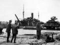 Fra havnen i det ødelagte Wilhelmshafen