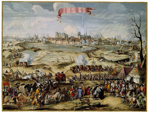 Wismars belejring 1675 ( fra Wikipedia)