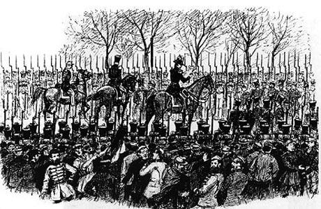 Prinsen af Noer under proklamationen den d. 24. marts 1848