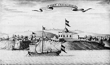 Det hollanske fort Creveceur (University of Virginia)