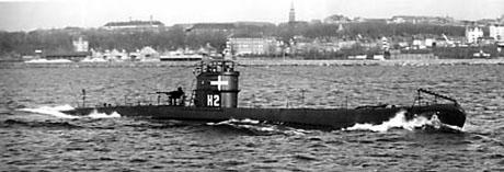 HAVFRUEN til søs i 1941 eller 1942. (Foto: Niels Erik Hansen)