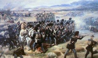 Den danske Livgarde afslår et slesvig-holstensk angreb under Slaget ved Isted.