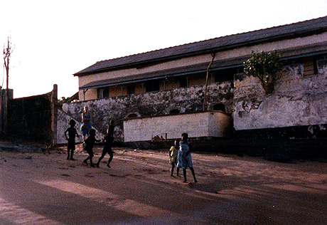 Det tidligere danske fort Prinsensten i dag (Wikipedia)