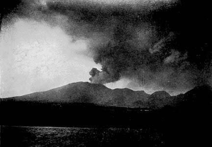 Udbrudet af Pelee i 1902