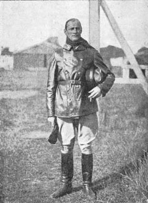 Premierløjtnant Hammelev Dræbt ved Nedstyrtning d. 22. Juni 1917