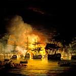 Engelsk bombardement af Algier 1816. (fra Wikipedia)