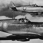 Dansk spitfire (foto via Alf Bluhme)