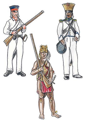 Danske kolonistyrker, Guinea