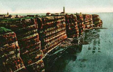 Helgolands formidable naturlige fæstningsværk
