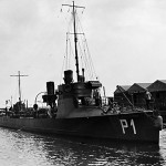 "Torpedobåden ""Hvalrossen"". (foto: Orlogsmuseet)"