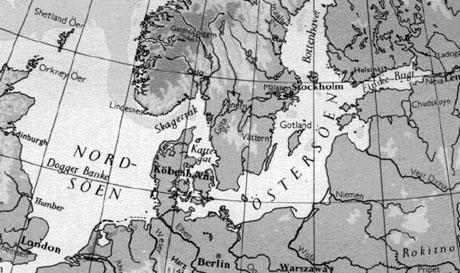 """Danmarks position som """"Porten til Østersøen"""""""