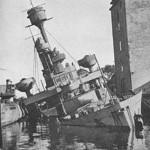 Resterne af en stor del af den danske flåde