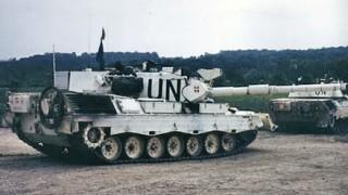 Dansk Leopard i Bosnien (foto: FOV)
