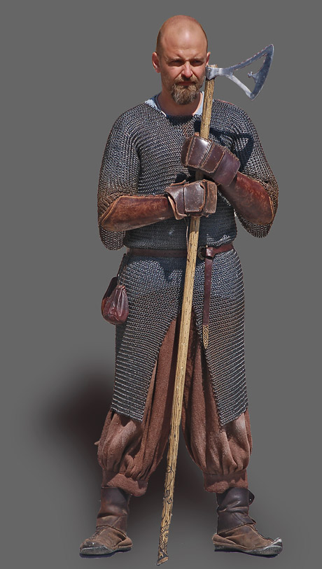 Vikingkriger (foto: Gert Laursen)