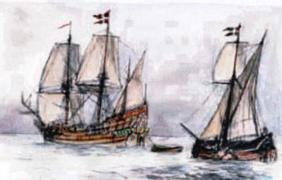 Jens Munks ekspedtion med skibene Enhjørningen og Lamprenen