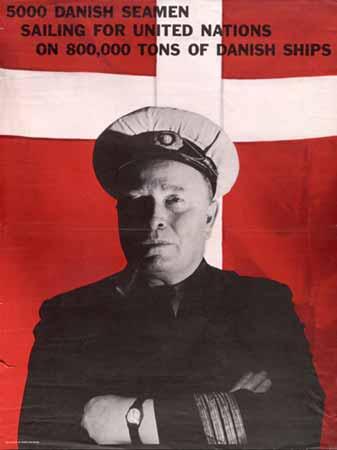 Plakat fra 2. verdenskrig trykt i USA.