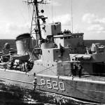 HUITFELDT som patruljebåd (foto: Marinens Bibliotek)
