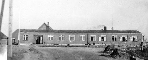 Slipshavn, Kasernebygning