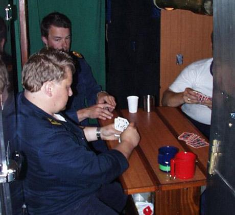 Kortspil ombord