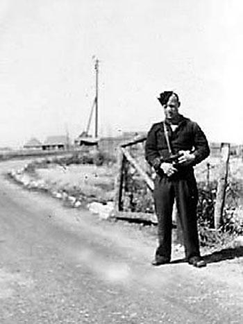 Rondelvagt, Slipshavn, sommeren 1945.