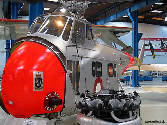 Sikorsky S-55 C på Teknisk Museum i Helsingør (foto: Gert Laursen)