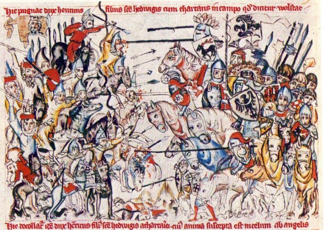 I 1241, hvor et felttog ind i Novgorods interessesfære fandt sted - også med dansk deltagelse - var hovedparten af ridderne fra Den Tyske Orden beskæftiget med at beskytte ordenens egne kerneområder nær Polen, foruden resten af Europa, mod truslen fra mongolerne, som tilsyneladende var militært uovervindelige. Slaget ved Legnica i Polen den 9. april 1241 mellem en blandet polsk-tysk-tjekkisk hær og en mongolsk hær under Djengis Khans barnebarn, Orda Khan, endte også med mongolsk sejr, og den europæiske hærførers, Henrik den 2.'s død.