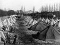 Billede fra øvelserne i Harzen. Teltbyen bestod af 600 telte.