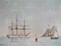 Krydserfregatten Fyen bygget 1882