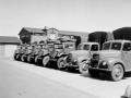 Vognparken med Ford og Chevrolet køretøjer