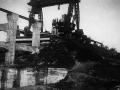 Tirpitz-stillingen med ammunitions elevatoren