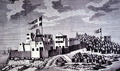 Christiansborg og Prøvestenen