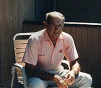 Vincent Galliozzi i 1994. Han er stadig i live her i 2002 og bor i Montana - USA.