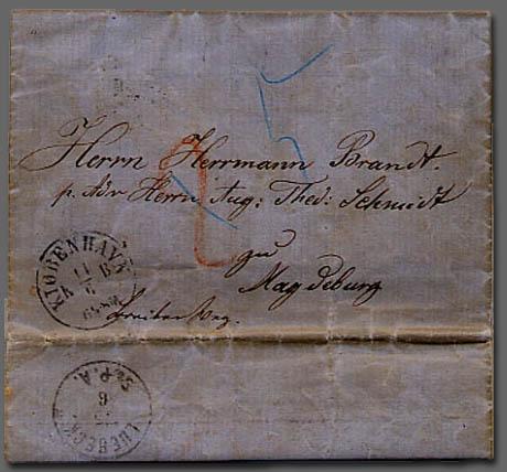 Hegels brev afsendt fra København