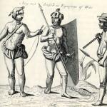 """Hollandsk-engelsk søslag i 1666, under den såkaldte """"Anden Handelskrig"""" mellem England og Nederlandene. (Abraham Storck/ Wikipedia)"""