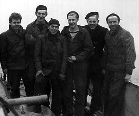 Besætningsmedlemmerne på Havnørnen