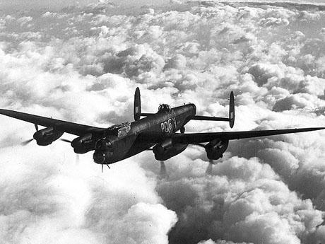 Royal Air Force Lancaster (foto: RAF)