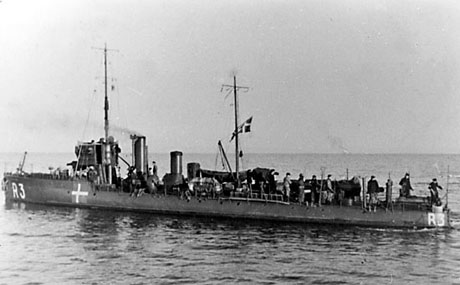 Nordkaperen i kystbevogtningen, ca. 1942 (foto: Orlogsmuseets samling)