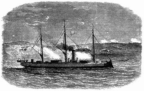 Rolf Krake i Als sund i Krigen i 1864