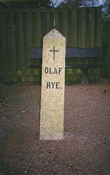 Olaf Rye's dødsted