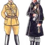 Danske soldater, 1940
