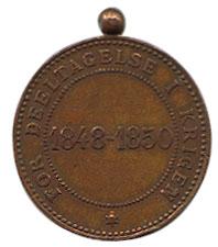 Erindringsmedalje for deltagelse i krigen 1848-50