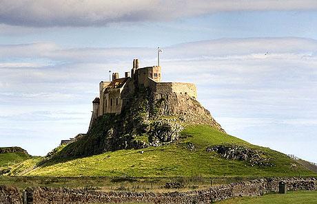 Borgen på Lindisfarne