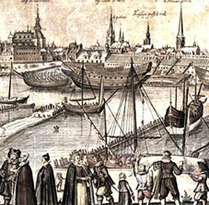 Bremerholmen omkring 1620
