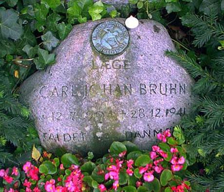 Carl Johan Bruhns gravsted