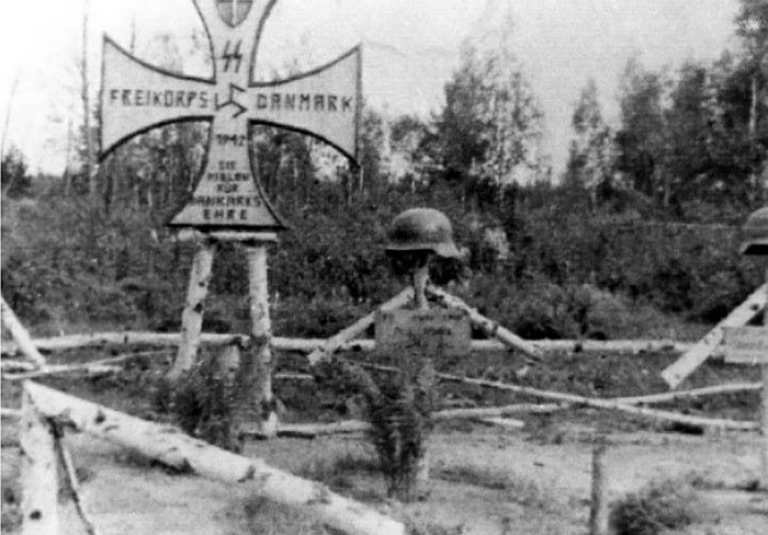 Frikorps Danmark soldater gravsted