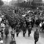 Soldater fra Frikorpset på orlov i Danmark