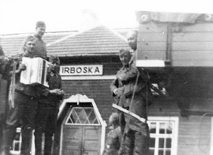 Frikorps soldater på Østfronten