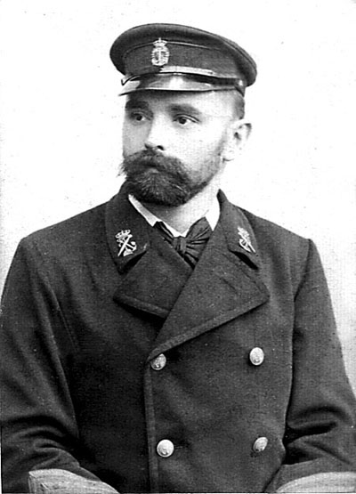 Minør i Søminevæsenet, Harald Theophil Kretzschmer  (foto fra Søren Kretzschmer)