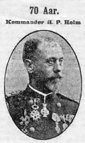 Commodore Holm, from a newspaper article on his 70th birthday, in 1917