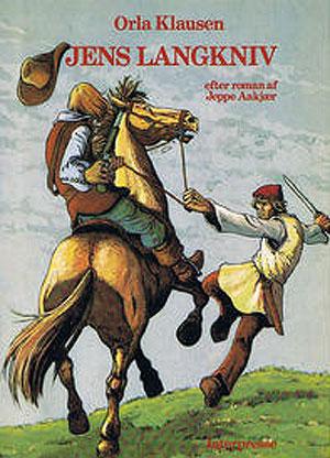 Orla Klausens tegneserie om Jens Langkniv